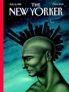 The New Yorker Cover - July 10, 1995 by Anita Kunz