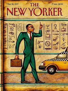 The New Yorker Cover - March 10, 1997 by Anita Kunz