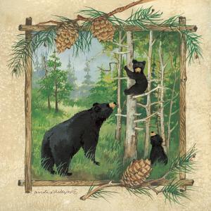Black Bears II by Anita Phillips