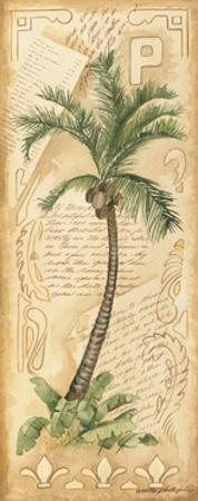 Palm Fronds I by Anita Phillips