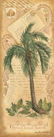 Palm Fronds II by Anita Phillips