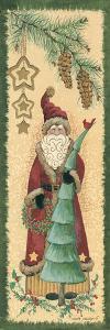 Santa with Tree by Anita Phillips