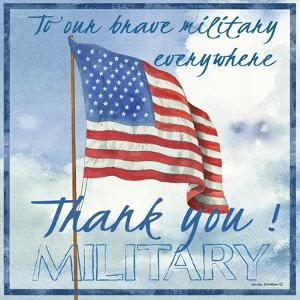 Thank You Military Sq. by Anita Phillips