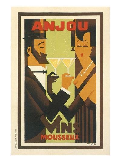 Anjou Vins Mousseux--Art Print