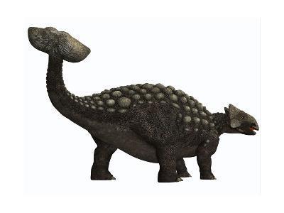 Ankylosaurus, a Heavily Armored Dinosaur from the Cretaceous Period--Art Print
