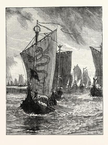 Anlaff Entering the Humber--Giclee Print