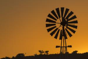 Wind pump, South Africa, Africa by Ann and Steve Toon