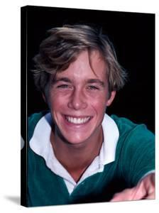 Actor Christopher Atkins by Ann Clifford