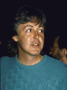 Singer Songwriter Paul Mccartney by Ann Clifford
