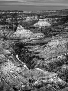 USA, Arizona, Grand Canyon National Park, Sunrise View of Colorado River from Mojave Point by Ann Collins