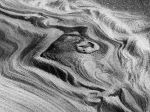 USA, California, La Jolla, Abstract of Sandstone Rock by Ann Collins