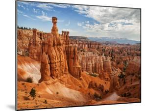 USA, Utah, Bryce Canyon National Park. Thor's Hammer Rises Above Other Hoodoos by Ann Collins