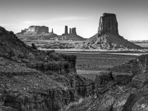 USA, Utah, Monument Valley, View of Buttes by Ann Collins