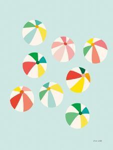 Beach Umbrellas by Ann Kelle
