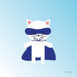 Cat Super Hero by Ann Kelle