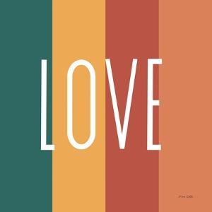 Love Rainbow Retro by Ann Kelle