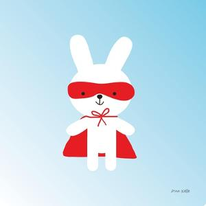 Rabbit Super Hero by Ann Kelle