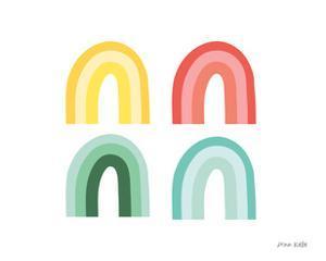Rainbow Colors I by Ann Kelle