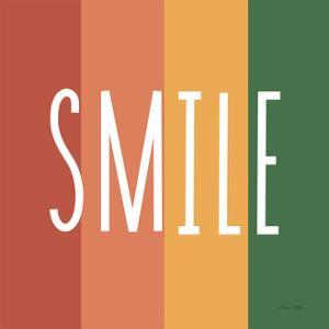 Smile Rainbow Retro by Ann Kelle