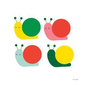 Snails Four by Ann Kelle