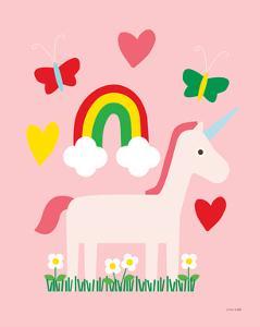 Unicorn Fun I by Ann Kelle
