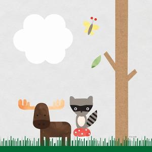 Woodland Animals I by Ann Kelle