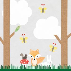 Woodland Animals II by Ann Kelle