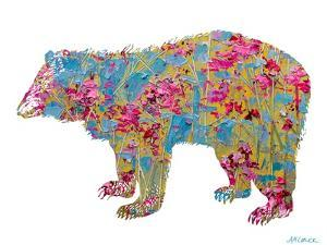 Colorful Bear by Ann Marie Coolick