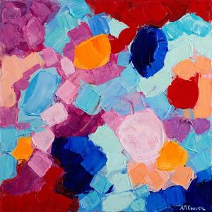 Flower Amoebic Party I by Ann Marie Coolick