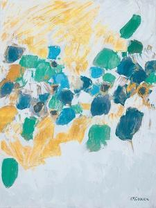 Gold & Teal Internodes by Ann Marie Coolick
