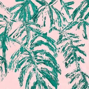 Teal Tropicalo Garden by Ann Marie Coolick