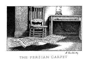 The Persian Carpet - New Yorker Cartoon by Ann McCarthy