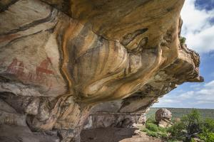 San Rock Art, Cederberg Mountains, Western Cape, South Africa, Africa by Ann & Steve Toon