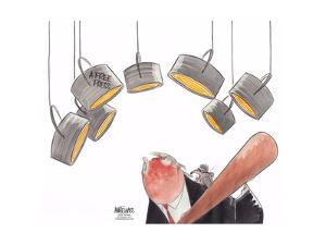 A free press. by Ann Telnaes