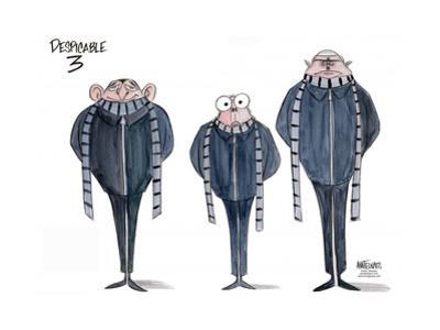 Despicable 3. by Ann Telnaes