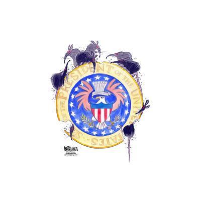 Seal of the President of the United States. E. pluribus unum.