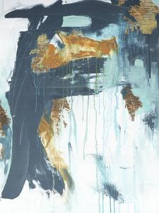 Gilded Abstract by Ann Tygett Jones Studio
