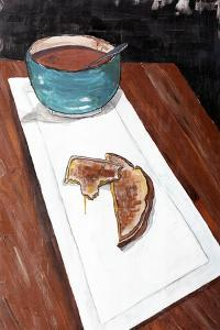 Grilled Cheese And Tomato Soup by Ann Tygett Jones Studio