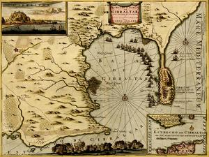 Nice on the Mediterranean - 1700 by Anna Beeck