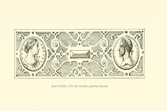 Anna Cobella and Nicolaus Grudius--Giclee Print