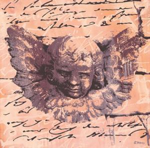 Apricot Letter of an Angel by Anna Flores