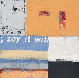 Say it with Flowers by Anna Flores