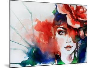 Creative Hand Painted Fashion Illustration by Anna Ismagilova