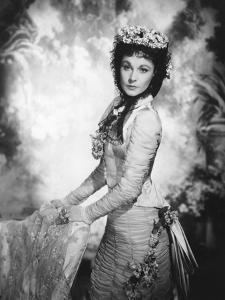 ANNA KARENINA, 1948 directed by JULIEN DUVIVIER Vivien Leigh (b/w photo)