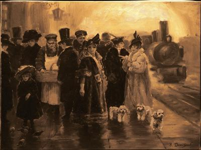 Anna Karenina-Yuri Denissov-Giclee Print