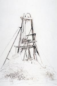 A Colliery Winding Engine, C1864-1930 by Anna Lea Merritt