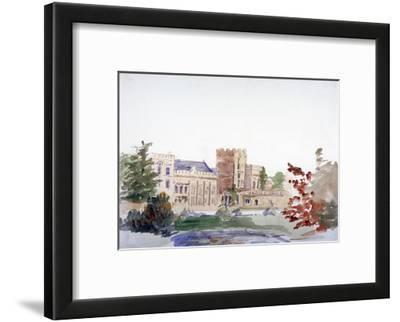 Castle Seen Through Trees, C1864-1930