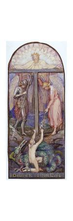 Design for Stained Glass', c1864-1930