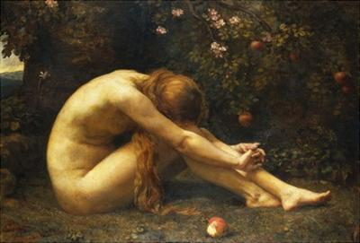 Eve in the Garden of Eden by Anna Lea Merritt