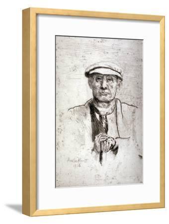 Old Man in a Flat Cap, 1916